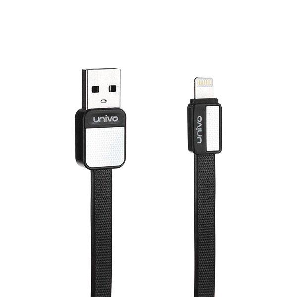 کابل شارژر USB به لایتینیگ برند یونیوو مدل UN-004i طول 1متر