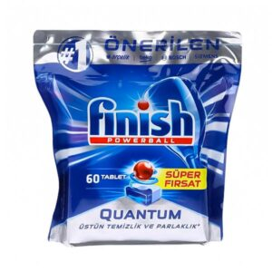 قرص ماشین ظرفشویی فینیش کوانتوم بسته 60 عددی