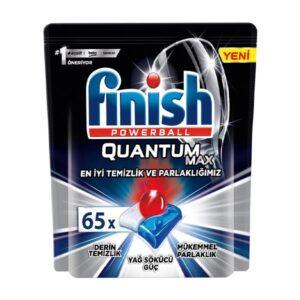 قرص ماشین ظرفشویی فینیش کوانتوم مکس بسته 65 عددی