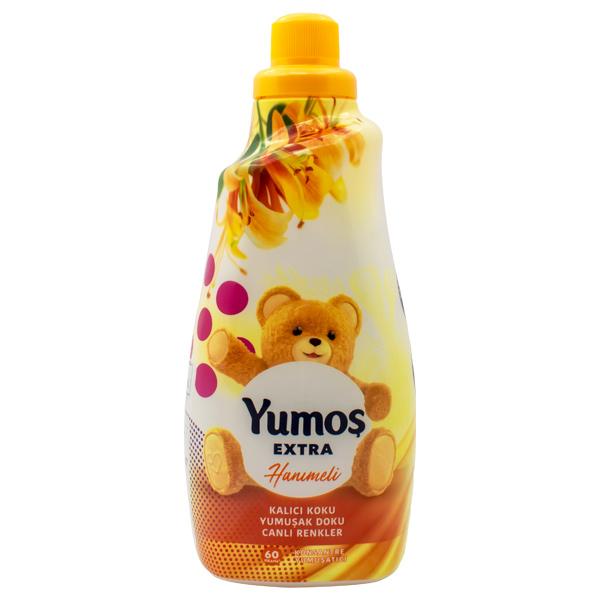 مایع نرم کننده لباس یوموش (Yumoş) با رایحه گل یاس حجم 1440ml