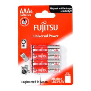 باتری نیم قلمی فوجیتسو مدل Universal Power LR06 بستهی 4 عددی