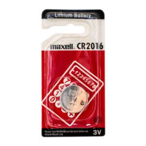 باتری سکه ای مکسل مدلCR2016 بستهی 1 عددی