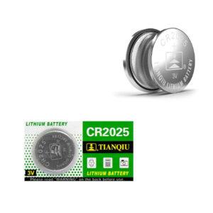 باتری سکه ای تیانکیو مدل CR2025 بسته 1 عددی