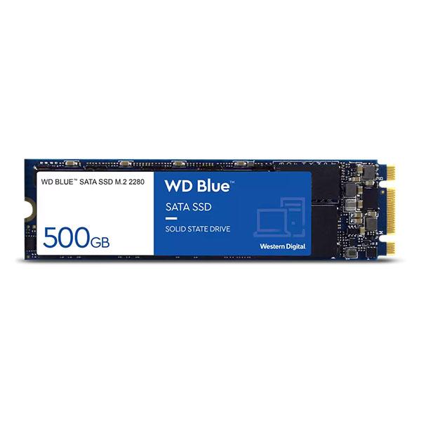 هارد SSD M.2 اینترنال Western digital مدل Blue ظرفیت 500 گیگابایت