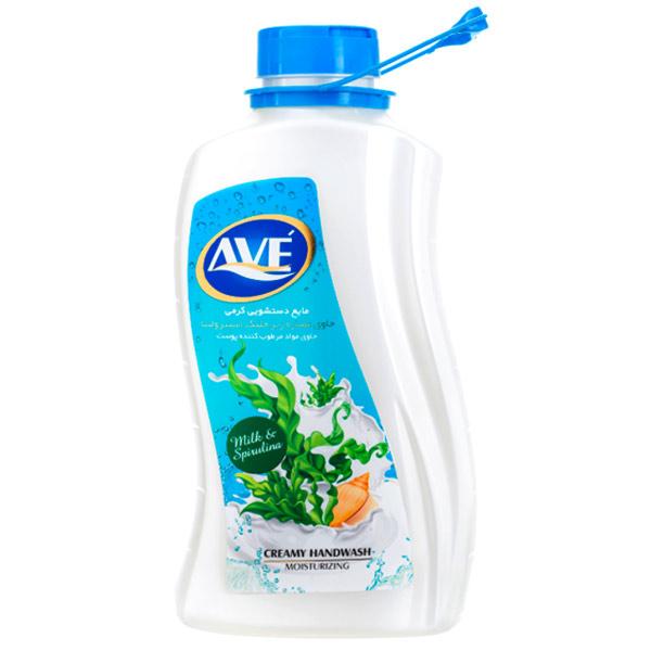 مایع دستشویی اوه حاوی عصاره شیر و شکوفه حجم 2 لیتری