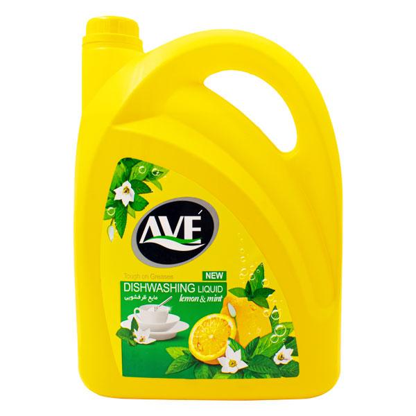 مایع ظرفشویی اوه Lemon And Mint حجم 3750gr