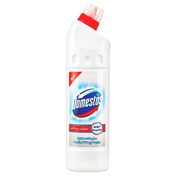 مایع سفیدکننده دامستوس سفید حجم 750 میلی لیتر