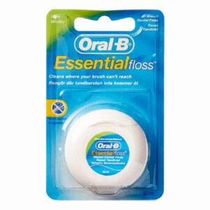 نخ دندان نعنایی اورال بی مدل Oral-B ESSENTIAL FLOSS UK