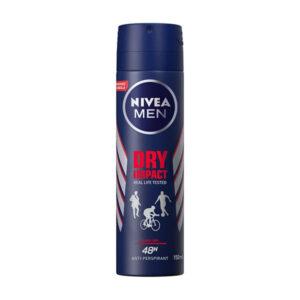 اسپری بدن نیوآ مدل Dry impact مناسب آقایان 150ml