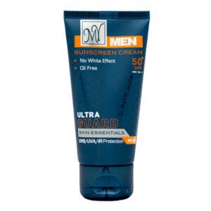 کرم ضدآفتاب مردانه مای فاقد چربی مدل Ultra Guard مناسب انواع پوست