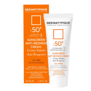 کرم ضد آفتاب درماتیپیک پوست قرمز و حساس +SPF50 حجم 40ml