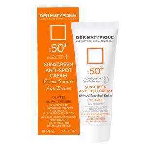 کرم ضد آفتاب درماتیپیک ضد لک و روشن کننده SPF50 حجم 40ml