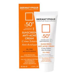 کرم ضد آفتاب درماتیپیک پوست چرب و جوشی SPF50 حجم ۴۰ml