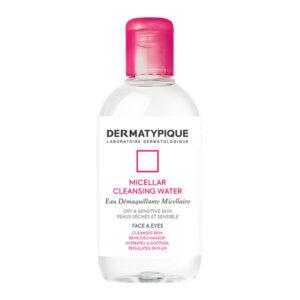 محلول پاک کننده آرایش درماتیپیک برای پوست خشک و حساس حجم 250ml