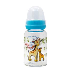 شیشه شیر بیبی لند مناسب برای 0-6 ماهگی حجم 120ml – کد 468
