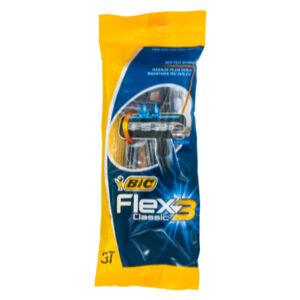 خود تراش بیک مدل Flex3 Classic بسته 3 عددی