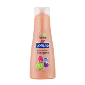 شامپو مولتی ویتامین گلرنگ مخصوص موهای خشک حجم 400gr