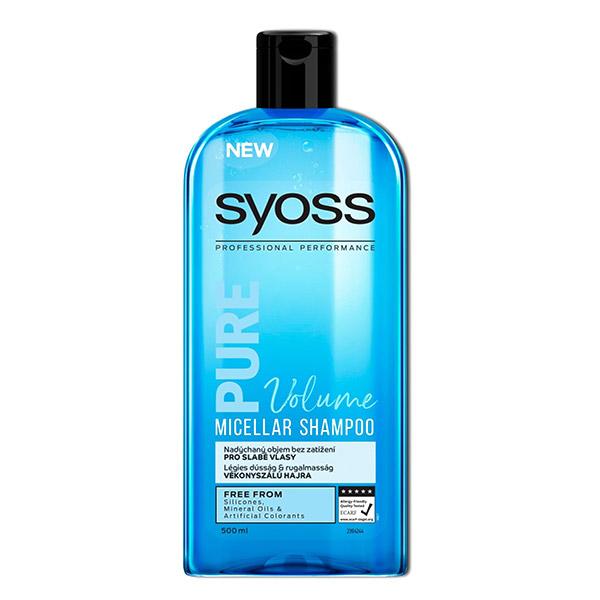 شامپو سایوس حجم دهنده مو Volume مناسب مو های نازک 500ml