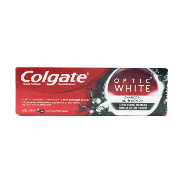 خمیر دندان سفیدکننده زغالی کولگیت حجم 50ml