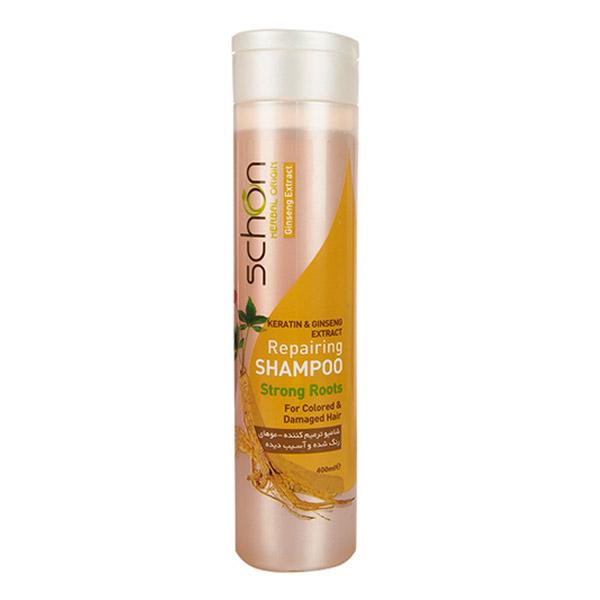 شامپو ترمیم کننده مو شون حاوی جینسینگ حجم 400ml