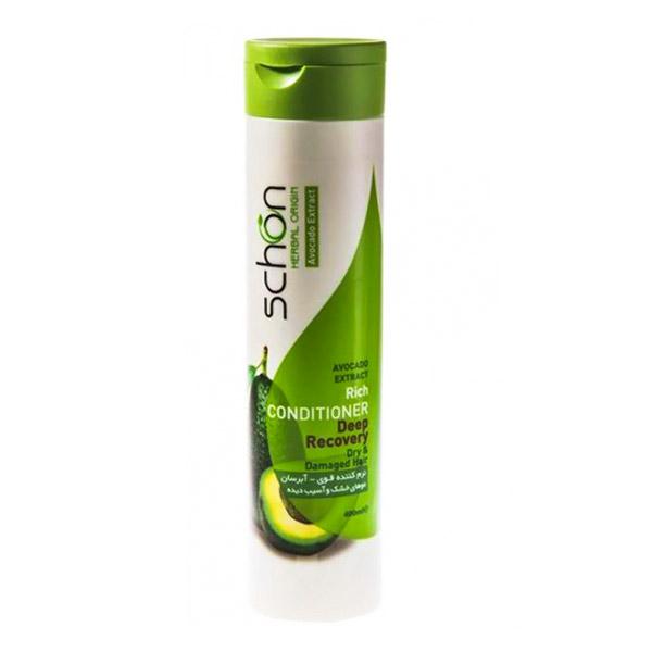 نرم کننده مو سر و آبرسان شون حاوی آووکادو حجم 400ml