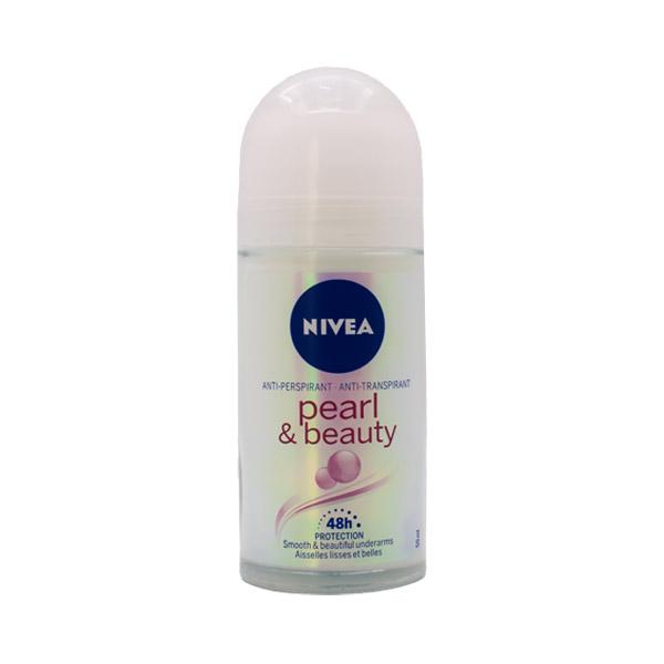 مام رول زنانه نیوا مدل Pearl & Beauty حجم 50 میلی لیتر