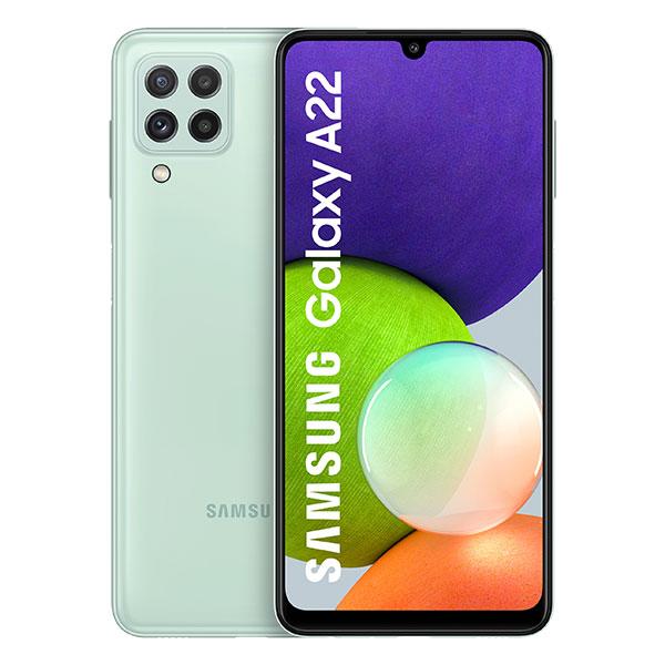 گوشی موبایل سامسونگ A22 ظرفیت 128 گیگابایت و رم 6 گیگابایت - هامیا
