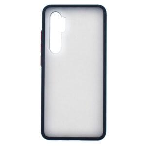 کاور دور سیلیکونی پشت مات سازگار با شیائومی مدل Mi Note10 lite