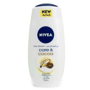 ژل شستشو بدن نیوآ مدل Care & Cocoa حجم 250 میلی لیتر