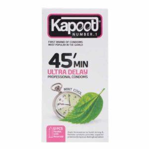 کاندوم کاپوت مدل Ultra Delay 45min بسته 12 عددی