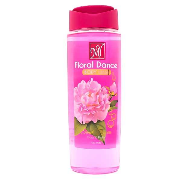 شامپو بدن مای حاوی عصاره گل رز