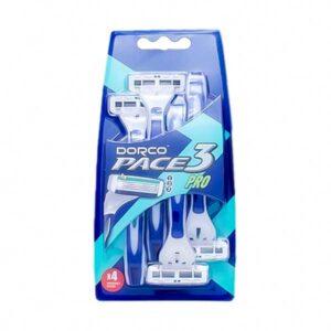 خود تراش مردانه دورکو مدل Pace3 Pro بسته 4 عددی