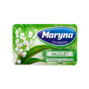 صابون محافظت از پوست مارینا با رایحه گل زنبق 100g بسته 6 تایی
