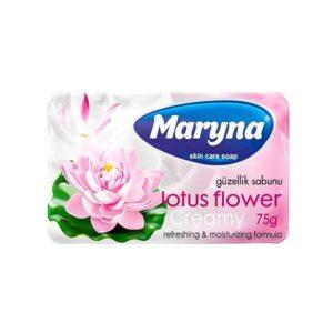 صابون محافظت از پوست مارینا با رایحه نیلوفر آبی 75g بسته 6 تایی