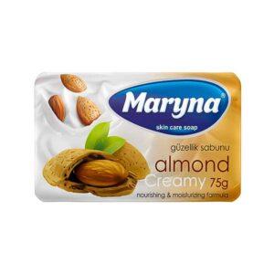 صابون محافظت از پوست مارینا با رایحه بادام 75g بسته 6 تایی