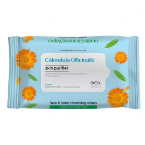 دستمال مرطوب بیول Calendula مناسب انواع پوست بسته 10 عددی