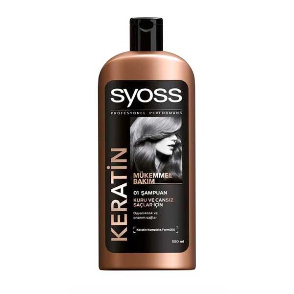 شامپو سایوس Keratin تقویت کننده مو