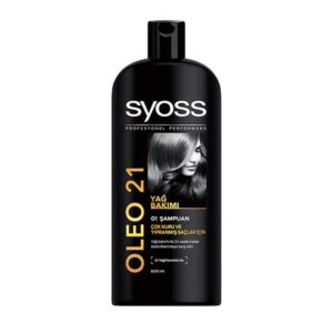 شامپو سایوس مدل Oleo 21 برای مو های خشک 550ml