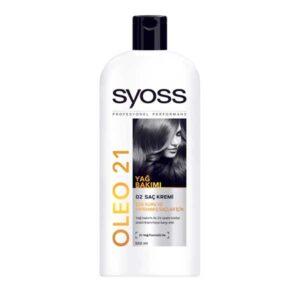 شامپو نرم کننده سایوس Oleo 21 برای موهای خشک 550ml