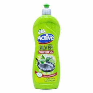 مایع ظرفشویی اکتیو Lime and Flower حجم 750ml