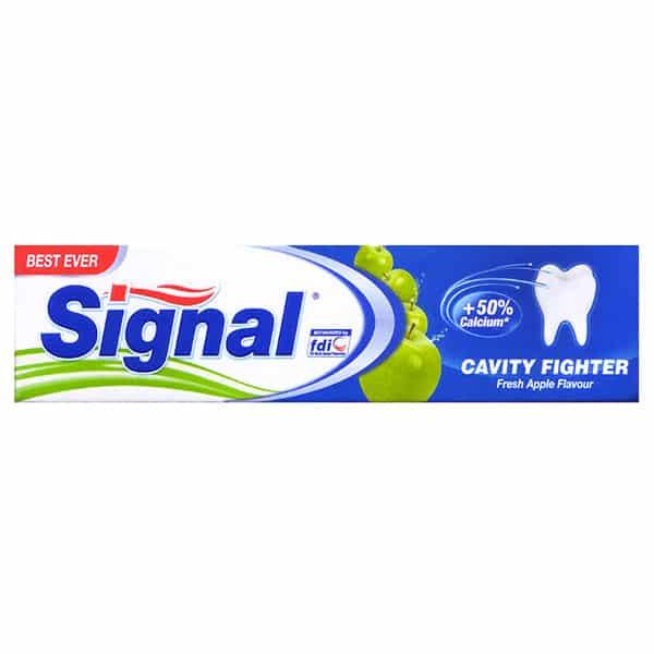خمیر دندان سیگنال حاوی طعم سیب