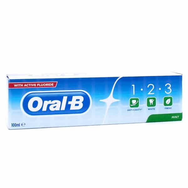 خمیر دندان اورال-بی 1.2.3
