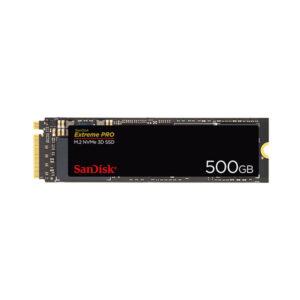 هارد SSD M.2 NVMe اینترنال SanDisk مدل Extreme PRO ظرفیت 500GB